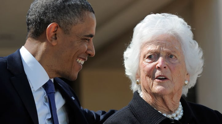 Barbara Bush Tells Son George W. His Father Was Best President