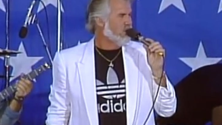 Flashback: Kenny Rogers Takes 'Ruby' to First Farm Aid