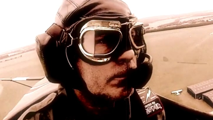 See Iron Maiden's Bruce Dickinson Fly a Plane in a Music Fest Dogfight