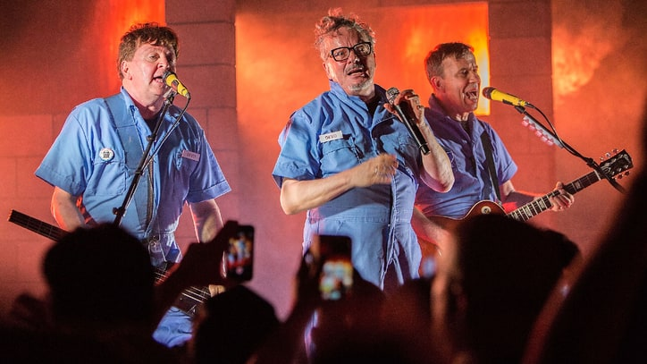 Devo Support Casale Family With 'Hardcore' Live Album, DVD