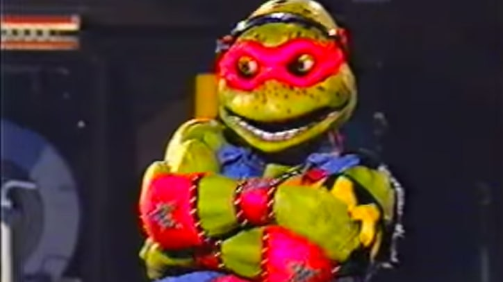 Flashback: The 'Ninja Turtles' (Briefly) Become Arena Rock Stars In 1990