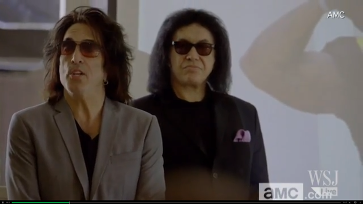 See Kiss Bum Out a Room of Football Team Owners in a Clip From Their TV Show