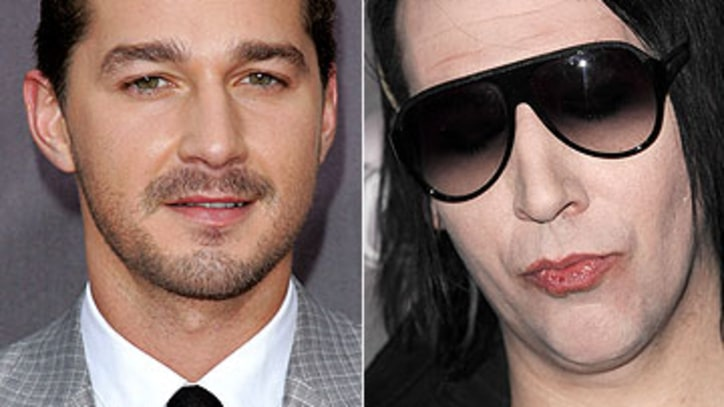 Shia LaBeouf to Direct Marilyn Manson Documentary