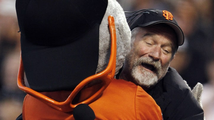 Robin Williams Honored by Hometown SF Giants: 'We Lost One of Our Greatest Fans'