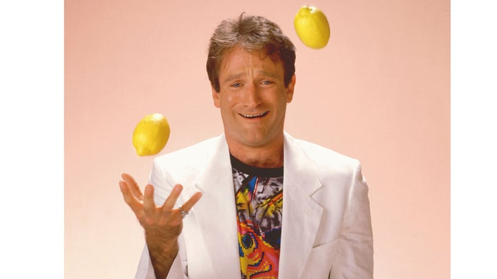 Robin Williams: A History in 15 Jokes