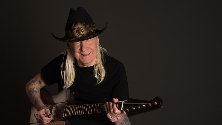 Hear Johnny Winter and Ben Harper Cover Blues Classic 'Can't Hold Out'