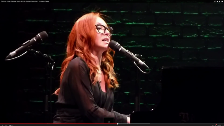 Watch Tori Amos' Sensual, Scary Live Cover of Radiohead's 'Creep'