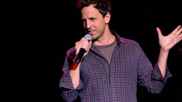 Seth Meyers Skewers Republican Candidates in Stand-Up Comedy Routine