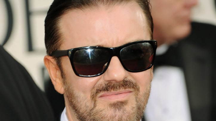 Ricky Gervais Returning as Golden Globes Host