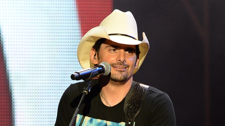 Brad Paisley Leaks New Song to Outer Space