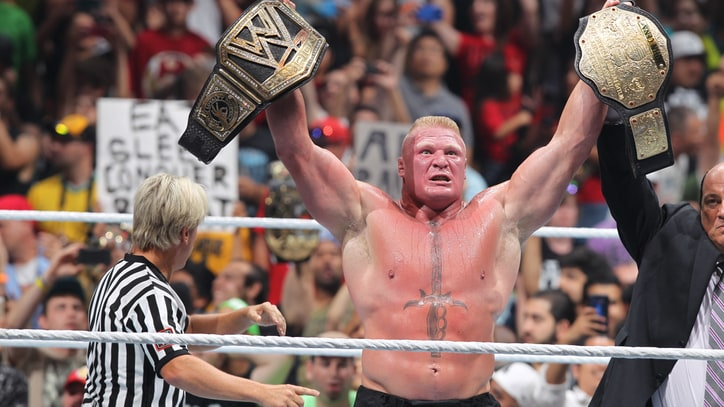 Brock Lesnar and the Swamps of Sadness