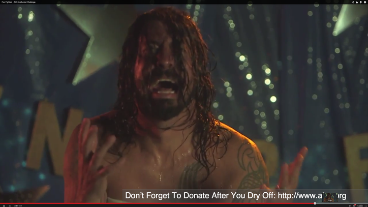 Foo Fighters Turn Ice Bucket Challenge Into Epic 'Carrie' Tribute