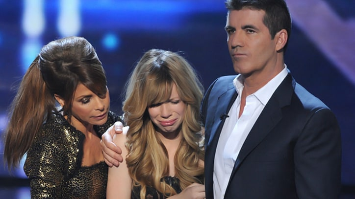 'X Factor' Recap: Night of Shocking Twists Ends With Tearful Goodbye