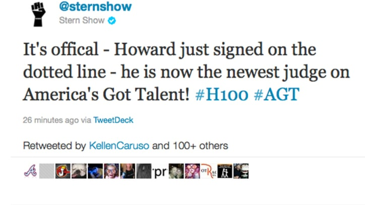 Howard Stern Becomes Judge on 'America's Got Talent'