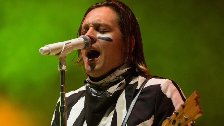 Vampiric David Byrne Joins Arcade Fire for Suicide Cover