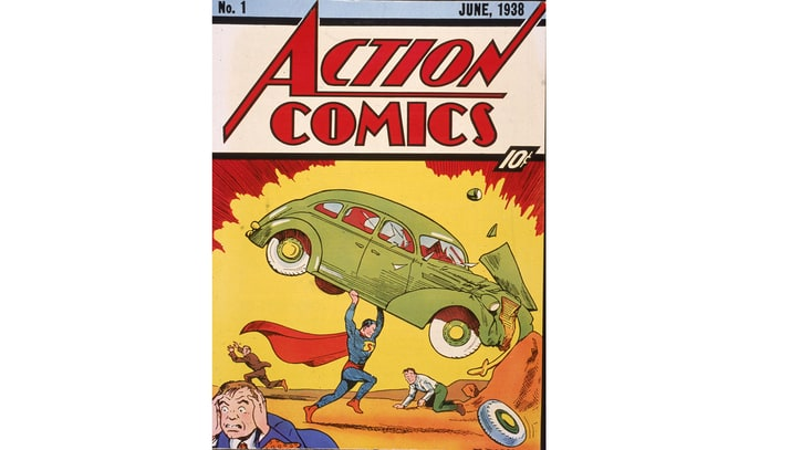Superman's Debut Comic Fetches Record $3.2 Million at Auction