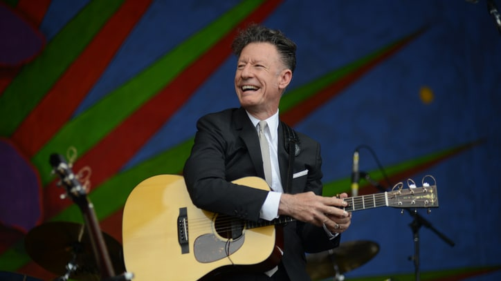 Lyle Lovett Records Duet With Pat Green, Shows Off Horse Skills on 'Letterman'