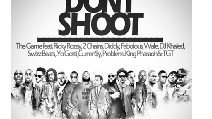 Hear the Game, Rick Ross, Diddy and More Join Forces for Ferguson on 'Don't Shoot'