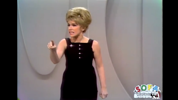 Flashback: Joan Rivers Performs on 'The Ed Sullivan Show' in 1967