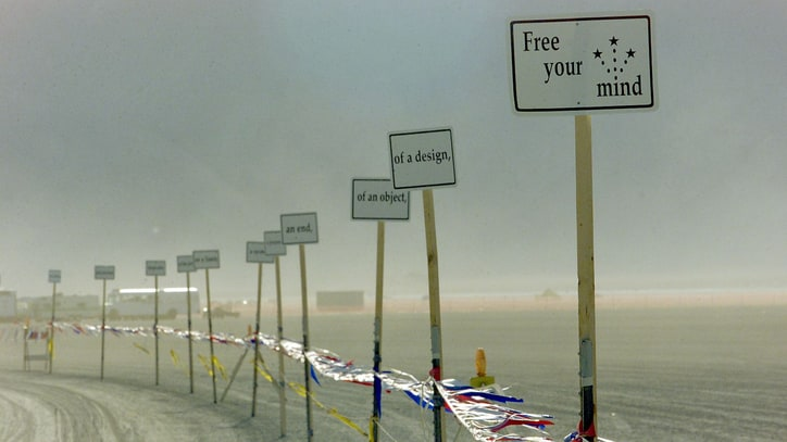Woman Killed by Bus at Burning Man