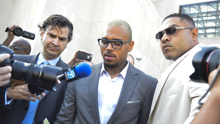 Chris Brown Pleads Guilty to Assault in D.C. Fight