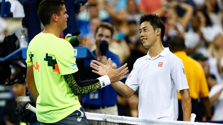 Up All Night at the US Open: Raonic and Nishikori's Five-Set Battle