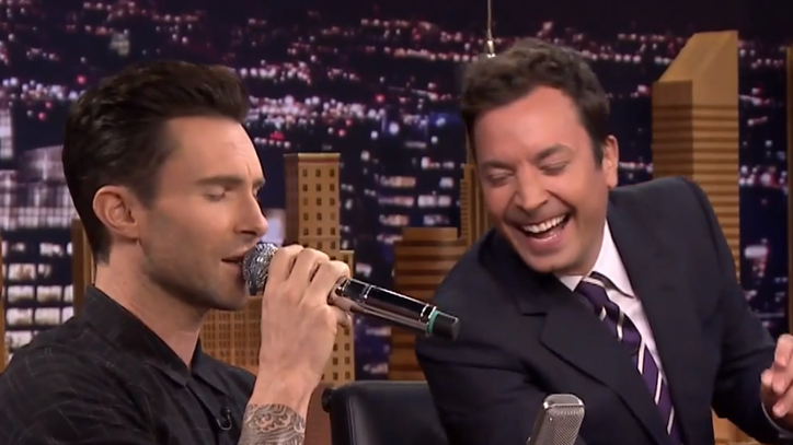 Adam Levine Destroys Jimmy Fallon in Musical Impressions Game