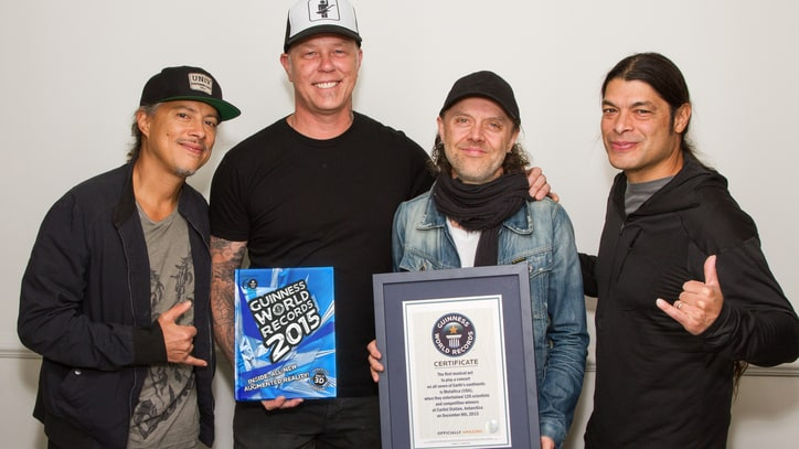 Wherever They May Roam: Metallica Set Guinness World Record for Touring