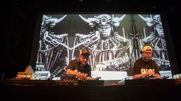 DJ Shadow and Cut Chemist Spin Afrika Bambaataa's Genre-Making Vinyl Collection