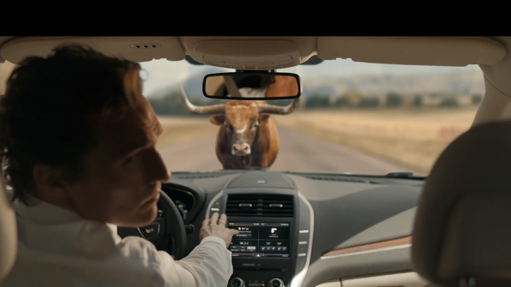 Matthew McConaughey Channels Rust Cohle for Weird Lincoln Ad