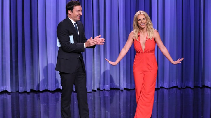 Britney Spears Breaks Down the Pros and Cons of Dating Her on 'Fallon'