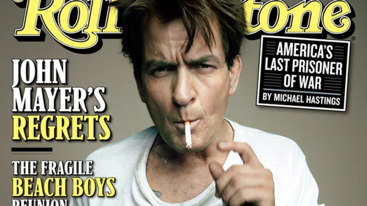 On the Cover: Charlie Sheen