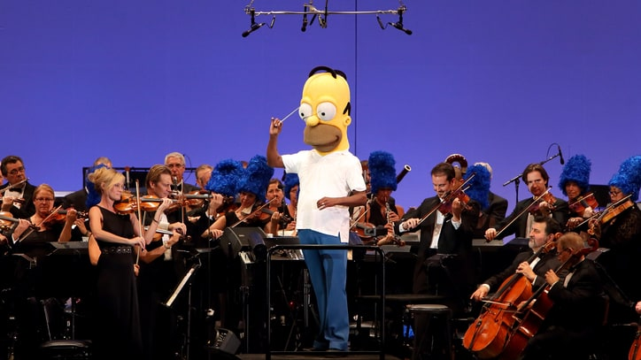 D'oh Re Mi: 'The Simpsons' Take the Hollywood Bowl