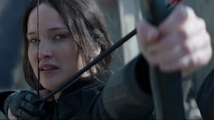 Jennifer Lawrence Takes on the President in New 'Hunger Games: Mockingjay' Trailer
