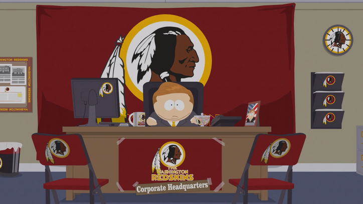 'South Park' Takes on Washington Redskins Naming Controversy