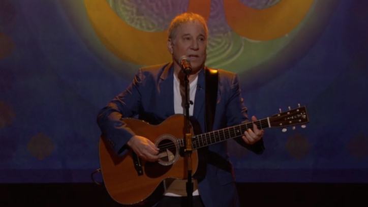 Watch Paul Simon Perform the Beatles' 'Here Comes the Sun' on 'Conan'