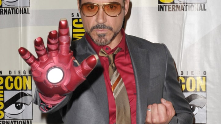 Robert Downey Jr. Injures Foot on Set of 'Iron Man 3'