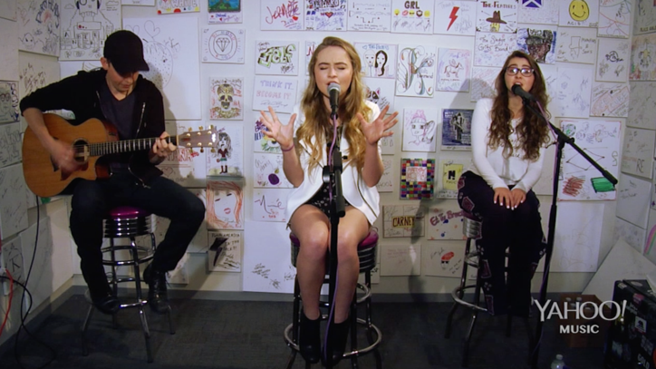 Sabrina Carpenter: See 'Girl Meets World' Star's Yahoo Performance