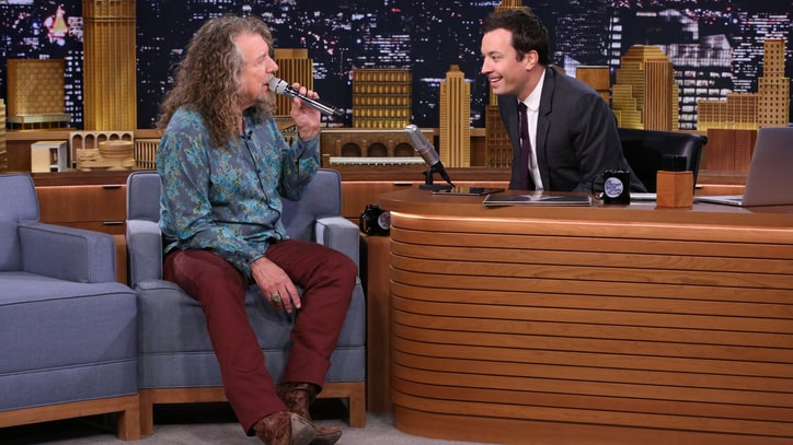 Robert Plant Goes Doo-Wop With Jimmy Fallon on