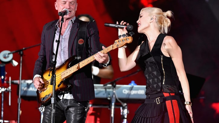 Watch Sting Sing 'Message in a Bottle' With No Doubt at Global Citizen Festival