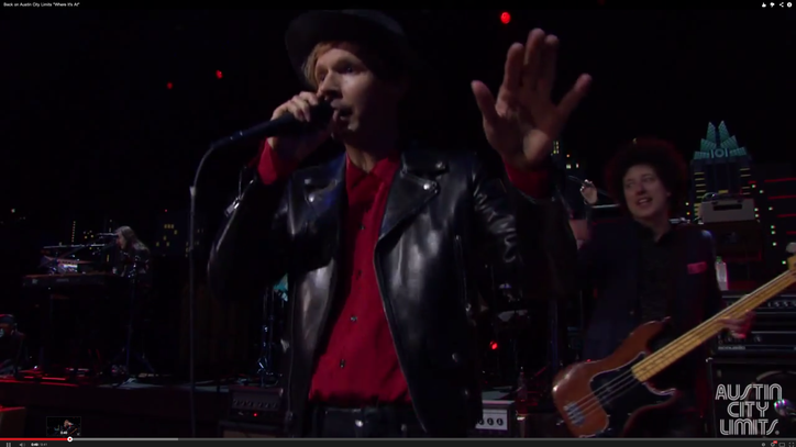 Watch Beck Perform an Epic 'Where It's At' From 'Austin City Limits'