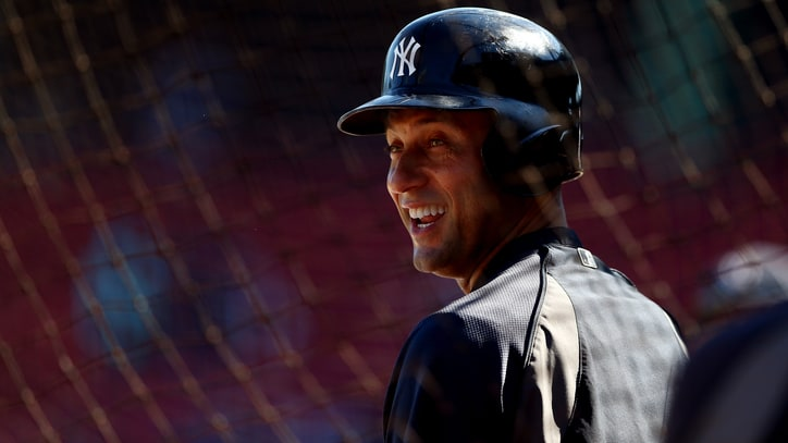 Derek Jeter Recruits Russell Wilson for 'The Players' Tribune'