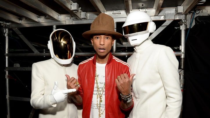Pharrell Teases 'Gust of Wind' Video With Daft Punk