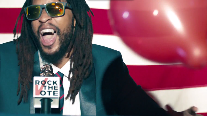 Lena Dunham, Lil Jon Team for Rock the Vote's 'Turn Out for What' Video