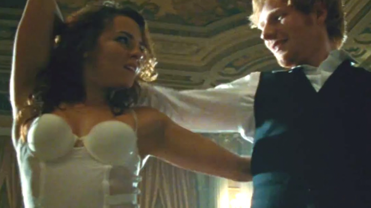 Sheeran Busts Out the Ballroom Moves in 'Thinking Out Loud' Video