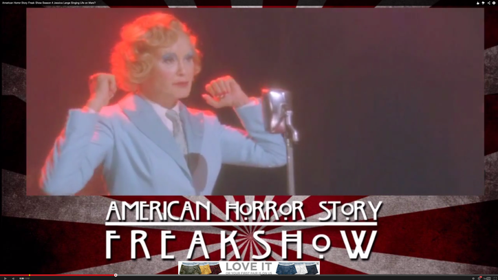 Watch the Eerie David Bowie Cover From 'American Horror Story'