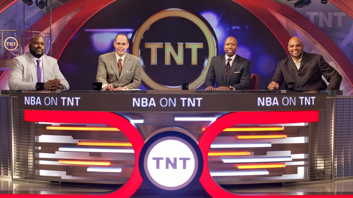 'Inside' Man: Ernie Johnson Keeps Sir Charles in Check... Sort Of