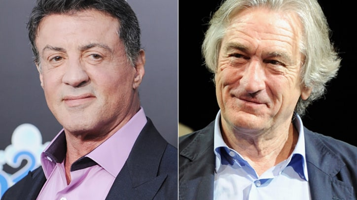 Robert De Niro, Sylvester Stallone to Face Off in 'Grudge Match'