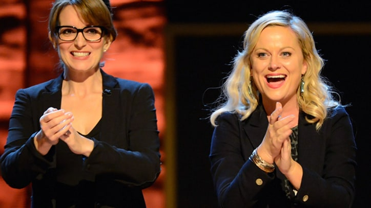 Tina Fey, Amy Poehler Take Over Golden Globes