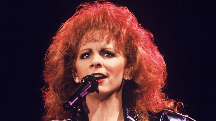 Flashback: Reba McEntire Causes a Stir With Revealing Red Dress
